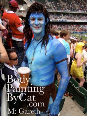 Avatar at HK Rugby 7's
