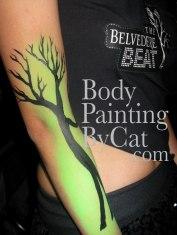 Belvedere promo UV tree arm green bpc
