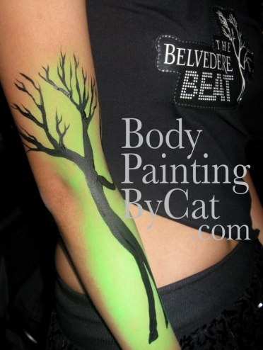 Belvedere promo UV tree arm green bpc