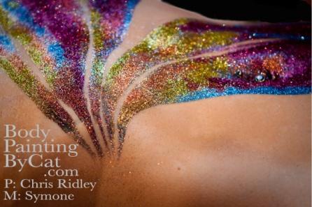 Butterfly Bling glitter Body Tatt - 1 blkbpc