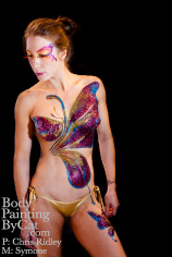 Butterfly Bling glitter Body Tatt - 15 bpc