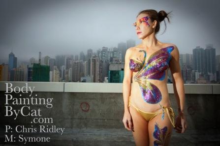 Butterfly Bling glitter Body Tatt - 39 - pic chrisridley.co.uk bpc