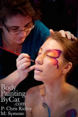 Butterfly Bling glitter Body Tatt  - 7 blkbpc