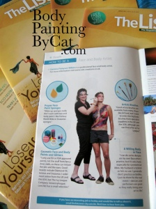 Cat & Pat how to be a pinter in The List magazine 3 bpc-1