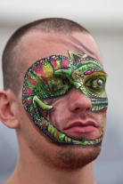 Cat welsh fest chameleon pic by Patrick Emery