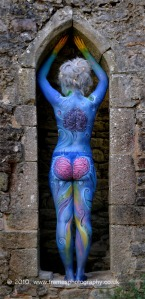 Welsh International Body Painting Festival 2010