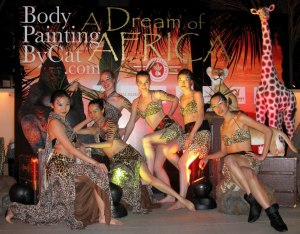 Cigar african paint dancers models kong bpc