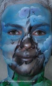 Welsh International Body Painting Festival 2010