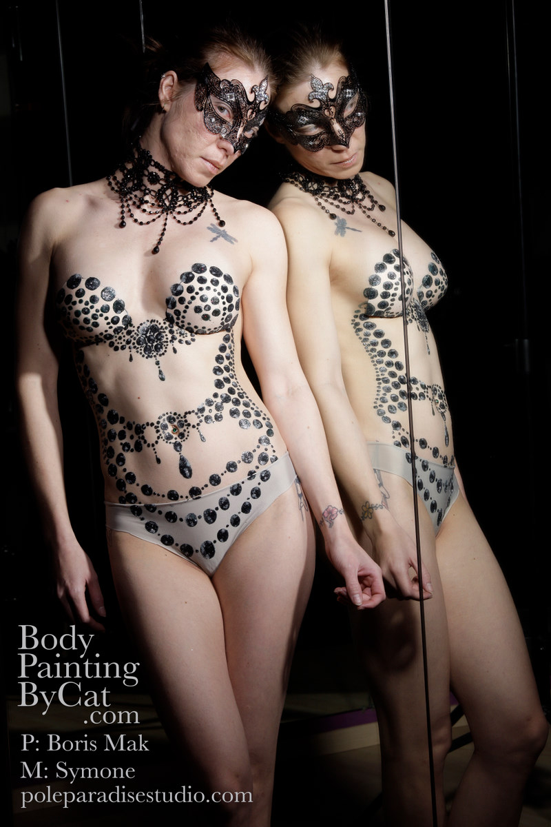 ... Tattoo Hoop Dancer Acrobat Burlesque Performer   Body Painting by Cat