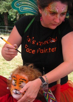Painting at Latitude Festival