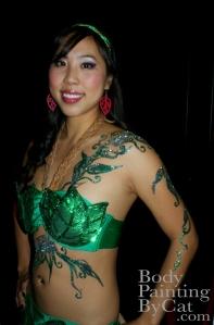 M1NT Forbidden garden leaf fairy glitter tatt2 wm