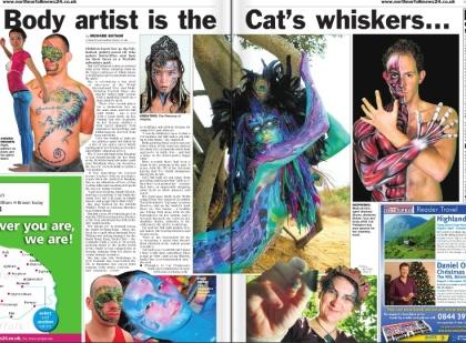 N Norfolk news cat welsh whiskers press