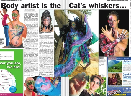 N Norfolk news cat welsh whiskers press