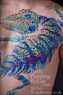 Seb glitter lizard nicks pics welsh fest nipple bpc
