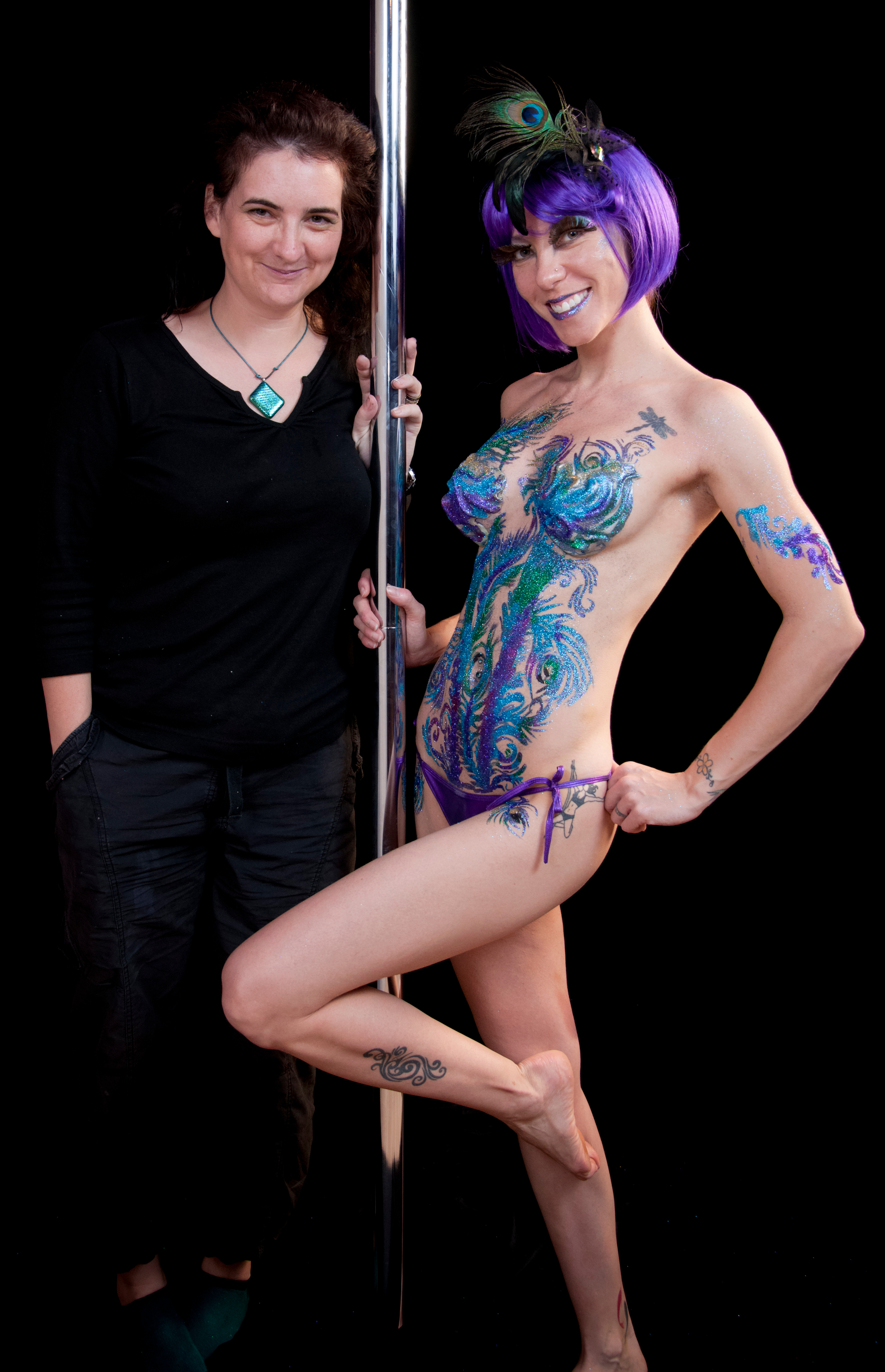 Big Glitter Body Tattoos Body Painting That Blings Body Painting By Cat
