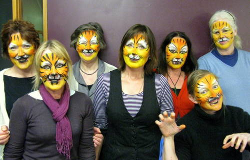 Wanaka Face Paint Students Body Painting By Cat