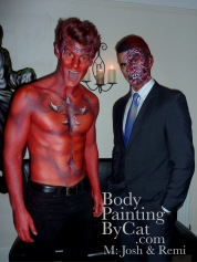 2face remi red devil josh paint bpc-1