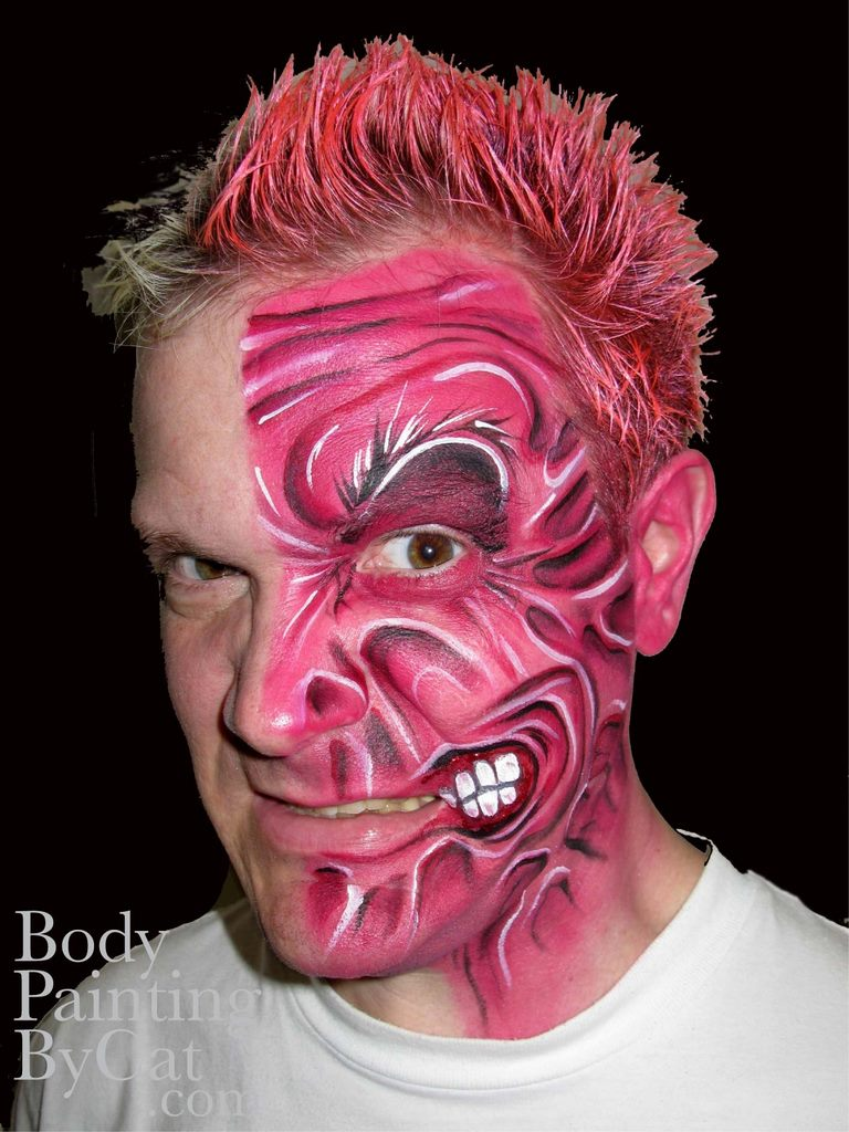 Batman Booking 2face Evil Blk Bpc
