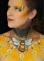 Bee neck bodypaint on Mel by Cat pics DR Cook up bpc