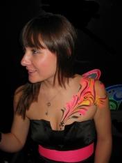 Bens UV party shoulder splash uvd