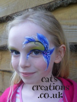 Blue iris eye cc