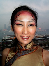Chines New Year Mandarin design, Hong Kong