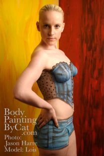 Denim bodypaint glare bpc