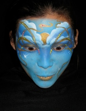 Reprising 5th, World Face Awards 2007 for Illusion & Freinds Face Painting Book
