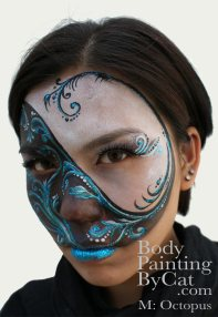 2nd in Shanghai's International Face & Body Art Comp