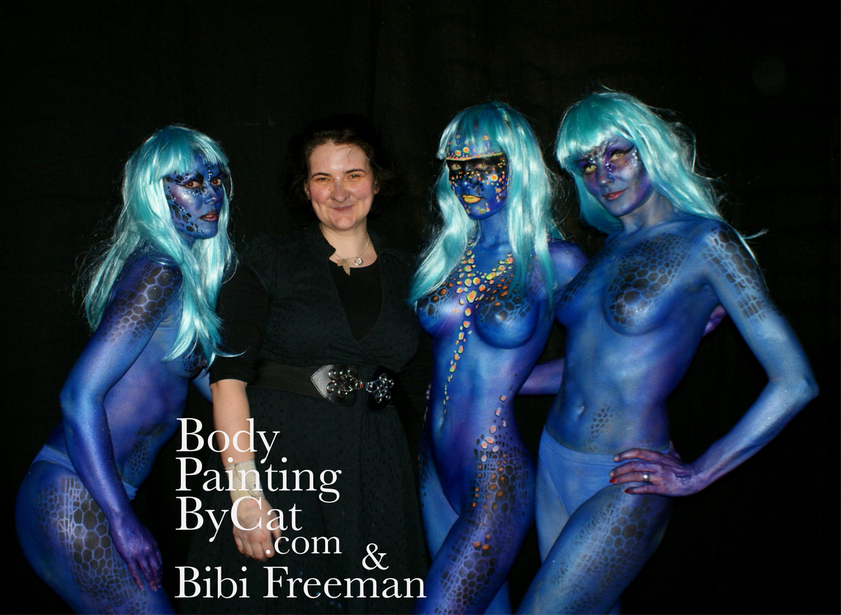 Costumes Body Painting By Cat