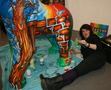 Jungle Jim, for GogoGorillas wild in art Trail, Norwich 2013
