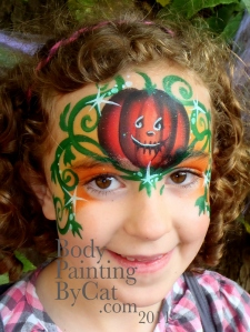 Cute Amp Spooky Halloween Face Painting At Bewilderwood 2011