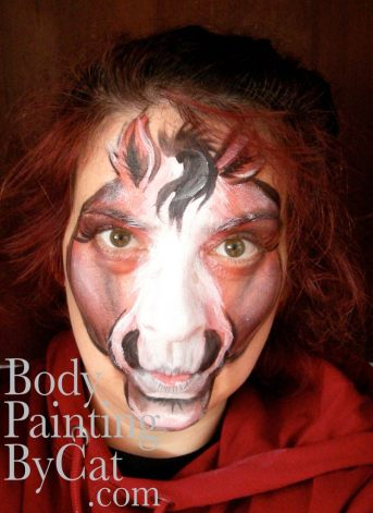 Horse face paint bpc