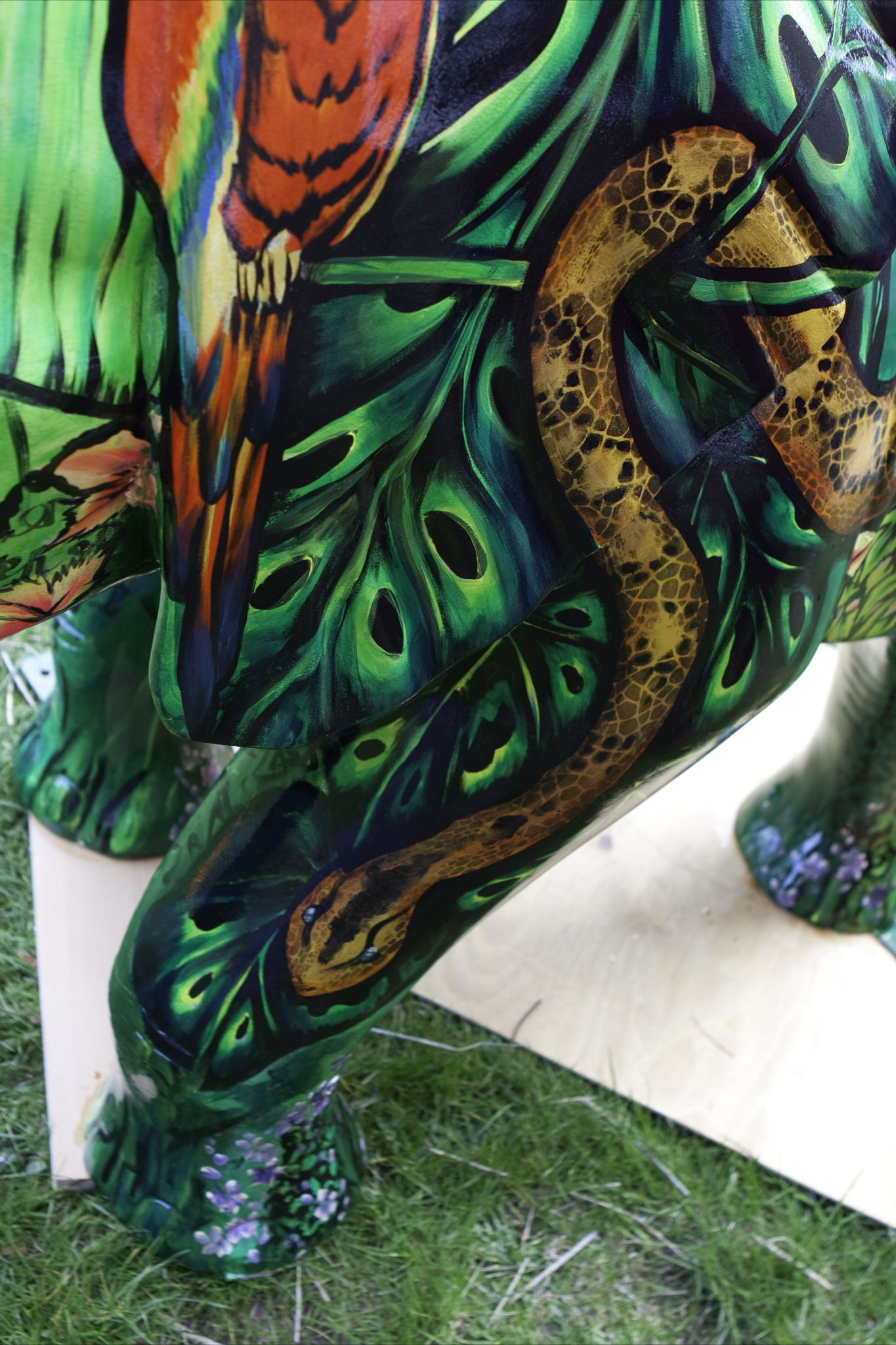 Statues Amp Murals Body Painting By Cat