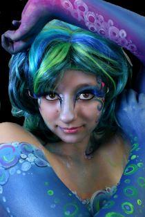 Mermaid face body Cat Finlayson-001