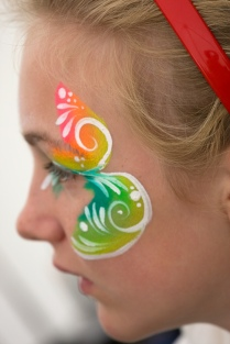 Neon eye swirl side Bacton