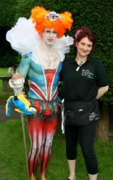 3rd Place Art Couture Painswick 2012