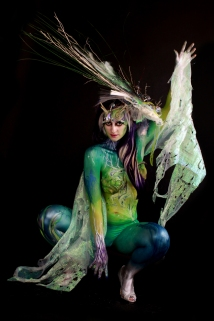 2nd, Pro Body Painter, Paintopia 2012