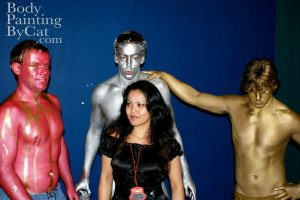 Pink gold silver bodypaints rugby oo bpc