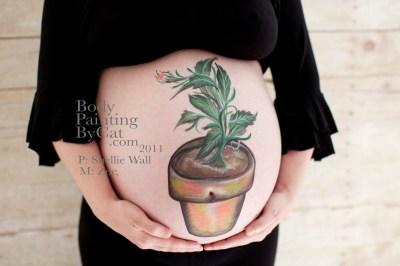 Plant pot bump sideish bpc