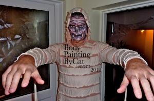Remi zombie mummy welcome  Halloween bpc