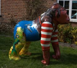 Sea Monkey, for GogoGorillas Wild In Art Trail, Norwich 2013