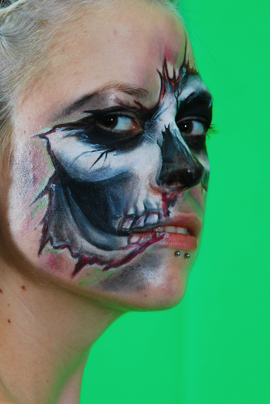 Halloween Face Painting Stencils