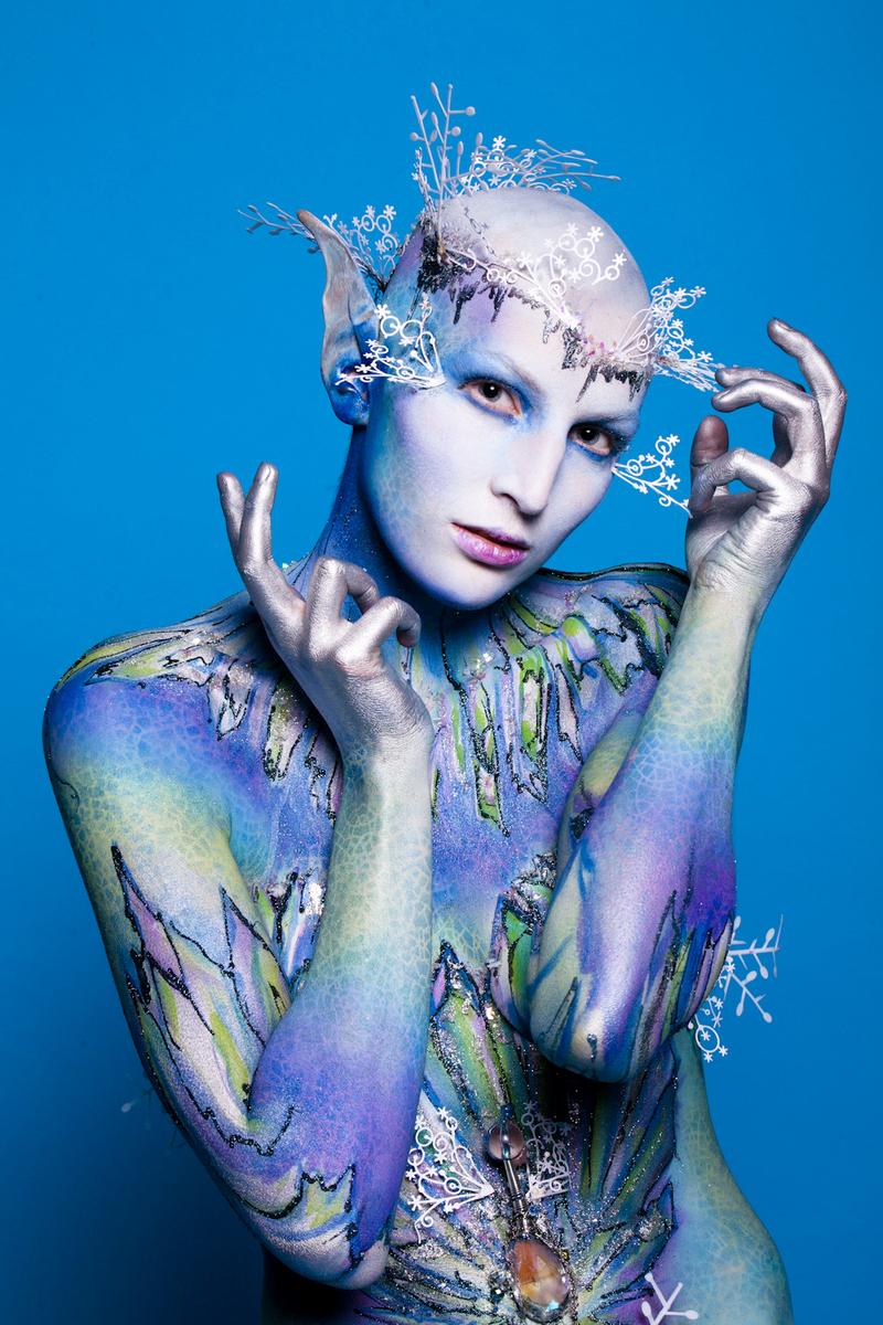 Extreme Body Painting Photos