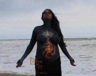 Tathy bump wicca sea pose bpc