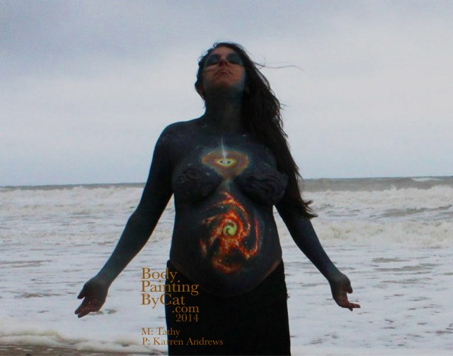 Tathy bump wicca sea pose bpc