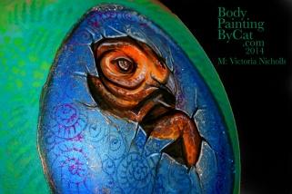 Vics dino egg bump side eye blcked bpc