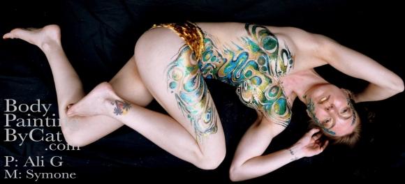 Abalone glitter body Symone HK Ali G