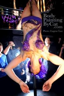 Beijing Club HK Glitter body tattoo; bodypaintingbycat.co.uk; on Symone of poleparadisestudio.com; photo Euegene Lau wm