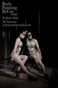 Goth necklace glitter tatt chair to mirror bpc